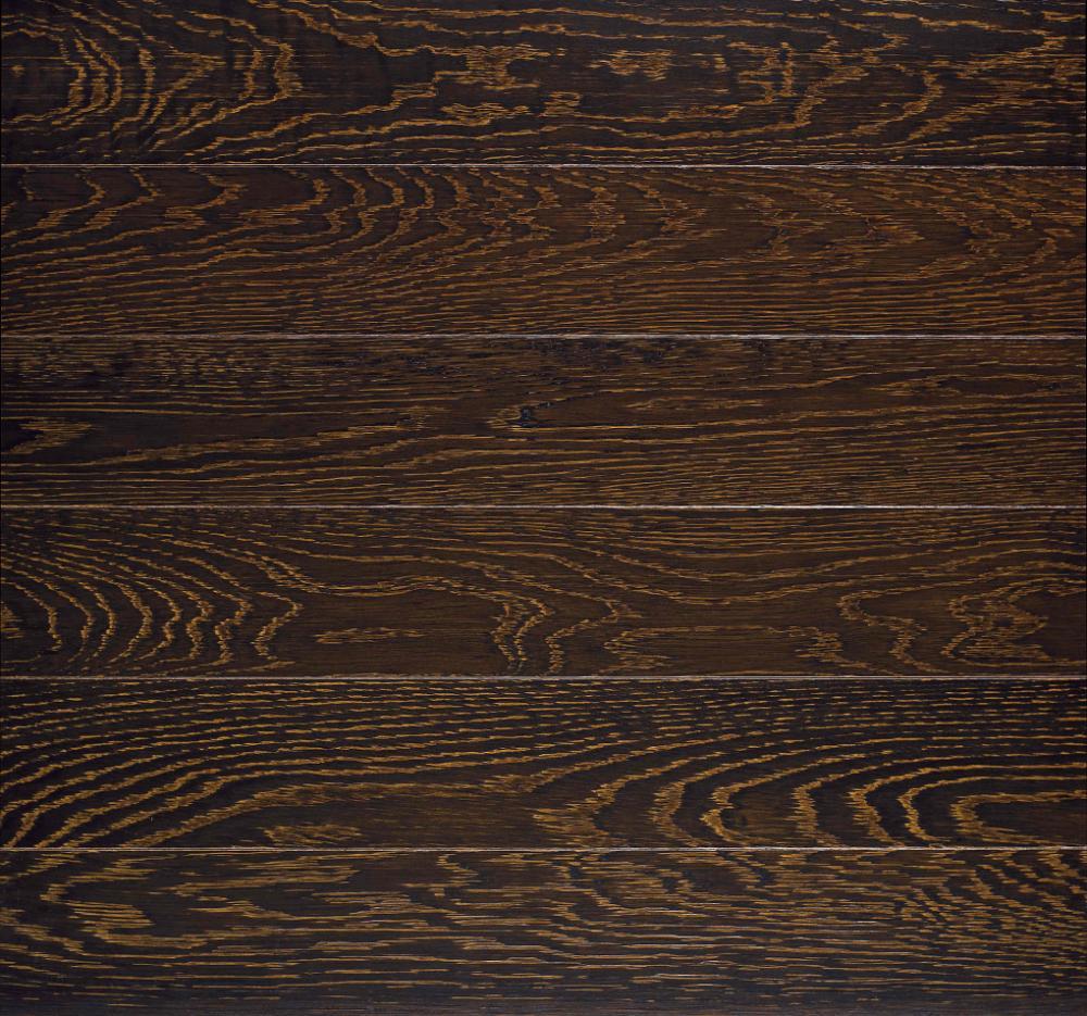 Plank Flooring Oak Textured Amp Dark Brown Solid Wood